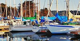 Rensning af bådpresenninger
